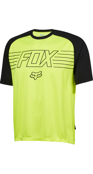 Fox Ranger Men's SS Prints Jersey flo yellow